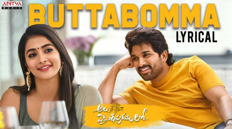 Buttabomma song lyrics in English