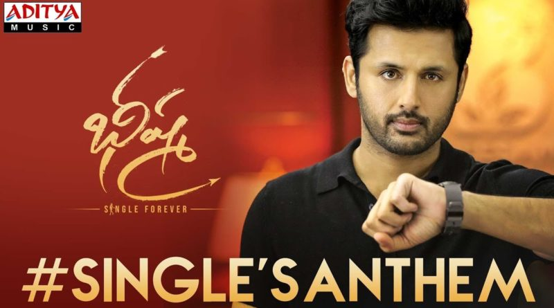 Single's-Anthem-song-lyrics-from-Bheeshma