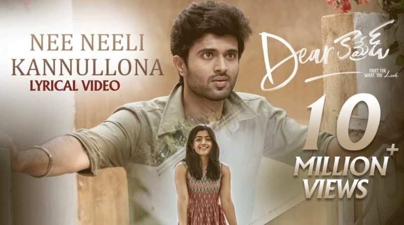 Nee-Neeli-Kannullona-song-lyrics-Dear-Comrade-2019