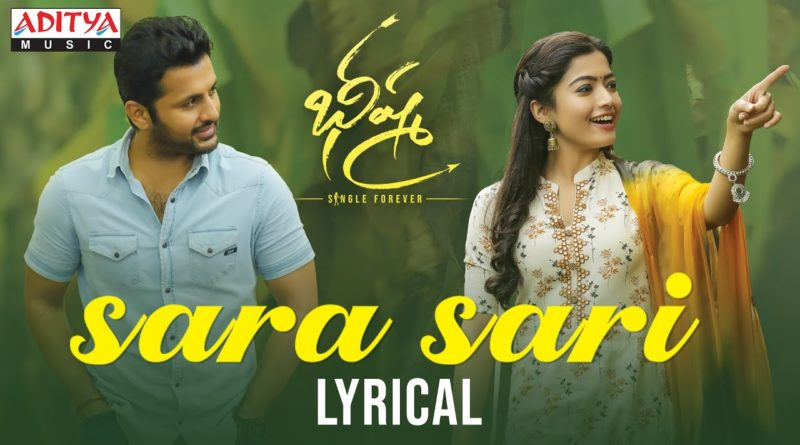 Sara-Saari-song-lyrics-Bheeshma