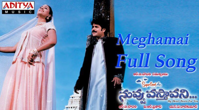 Meghamai-Telugu-Song-Lyrics-Nuvvu-Vasthavani-2000